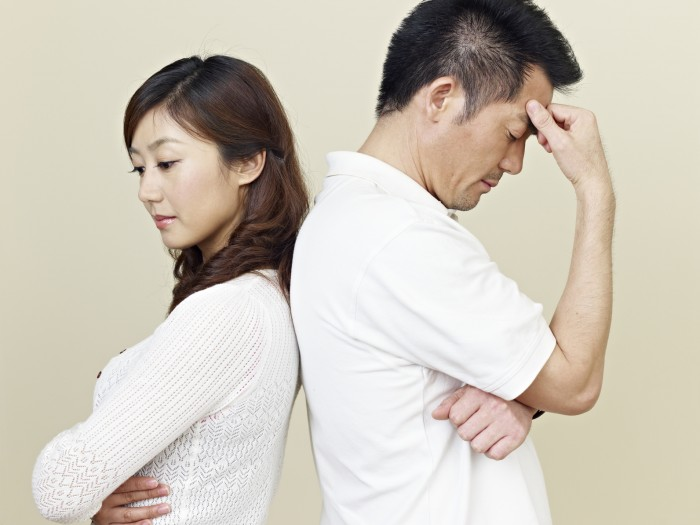 We realize divorce of spouse who caused the split-up in a little over one month